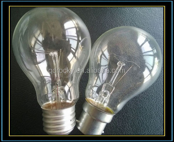 Clear Incandescent Bulb 60w 100w Buy A19 A60 Ps60 Clear