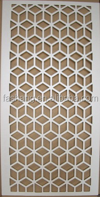 Room Divider Materials Decoration Carving Mdf Grill Boards