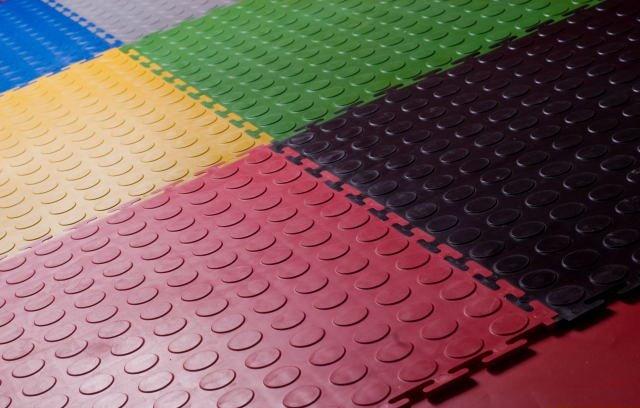 Garage Floor Mats Anti Slip Mats Big Round Studded