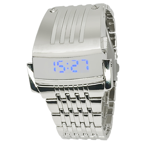 New Design Iron Men LED Watches