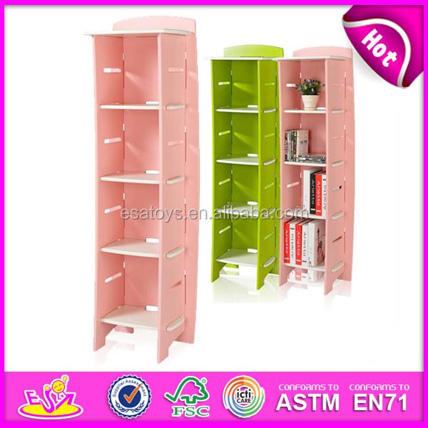 2015 hot kids wooden bookshelf,Fashion living room furniture wooden ...