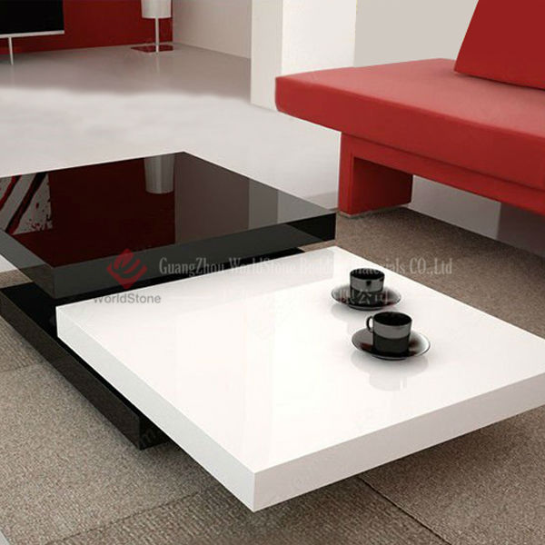 Latest design marble coffee table livning room center for Latest center table design