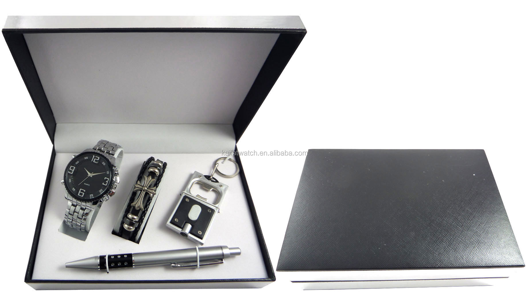 Men Business Corporate Gift Watch Wallet Gift Set - Buy Watch,Gift ...