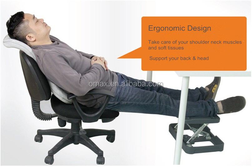 Ergonomic Office Under Chair Foot Rest Angle Adjustable