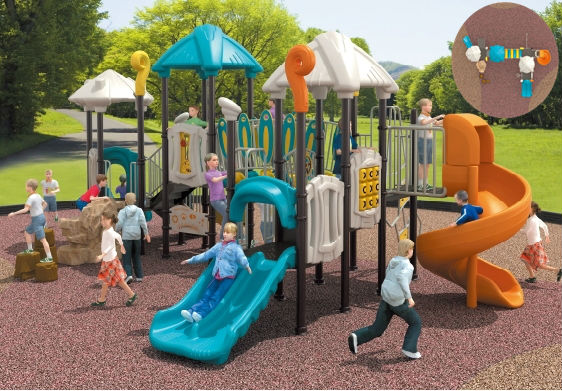 Large And Beautiful Preschool Kids Playground Outdoor Play