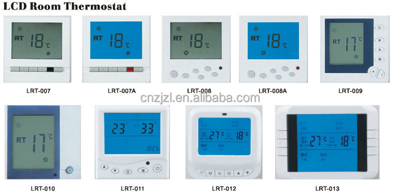 RESOUR Electronic Room Thermostat With Liquid Crystal Display