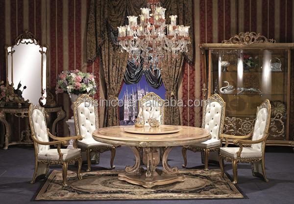 British Style Royal Dining Room Set, Noble Versailles Furniture ...