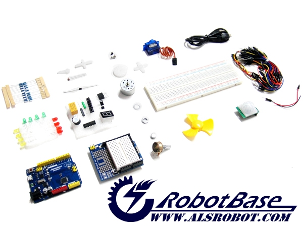 Electronic Starter Kit with Arduino Compatible