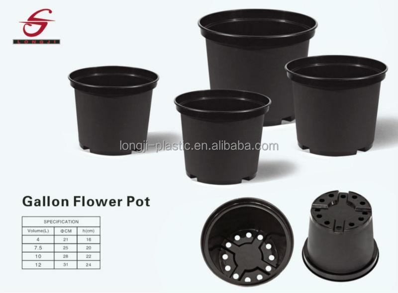 new arrival pp plastic 3 gallon 12 l plant pot buy 3 gallon plant pot new arrival plant pot pp. Black Bedroom Furniture Sets. Home Design Ideas