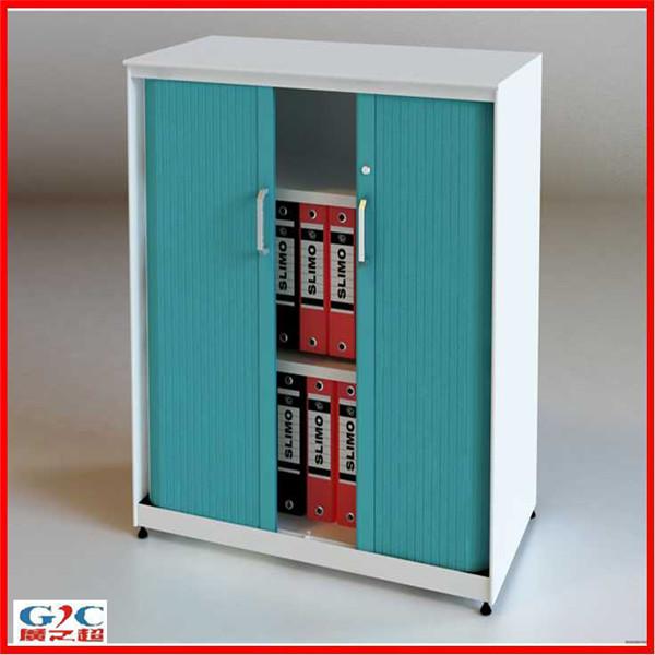 Two Roller Door Office Lockable Filing Cabinet - Buy Lockable ...