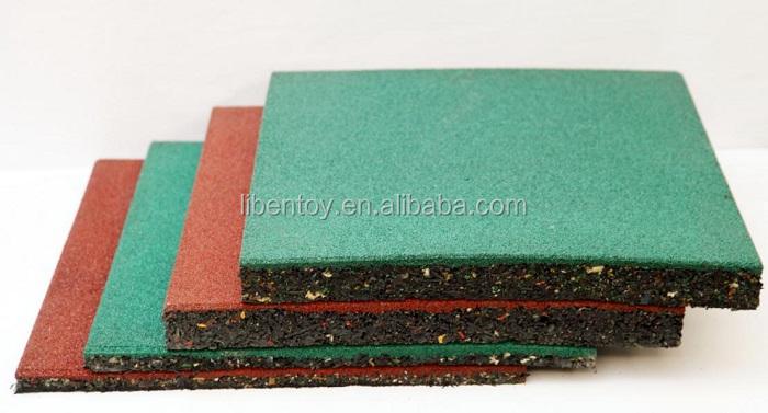Tappeto piastrelle per pavimenti vialetto gomma incastro