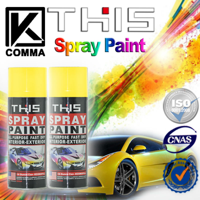 Cheap Wholesale F1 Acrylic Removable Aerosol Car Spray