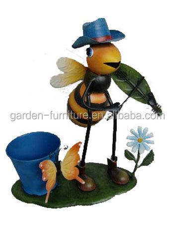 Wholesale Handicraft Dog Metal Animal Planter Wrought Iron Flower Pot Stand Buy Flower Pot