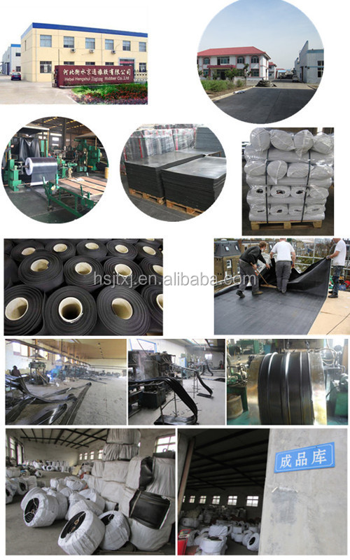 Jingtong Rubber China Rubber Gate Seals For Canal Gates