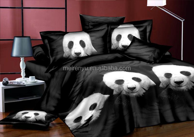 3d Rotary Screen Printing Animal Panda Pattern Design 3d