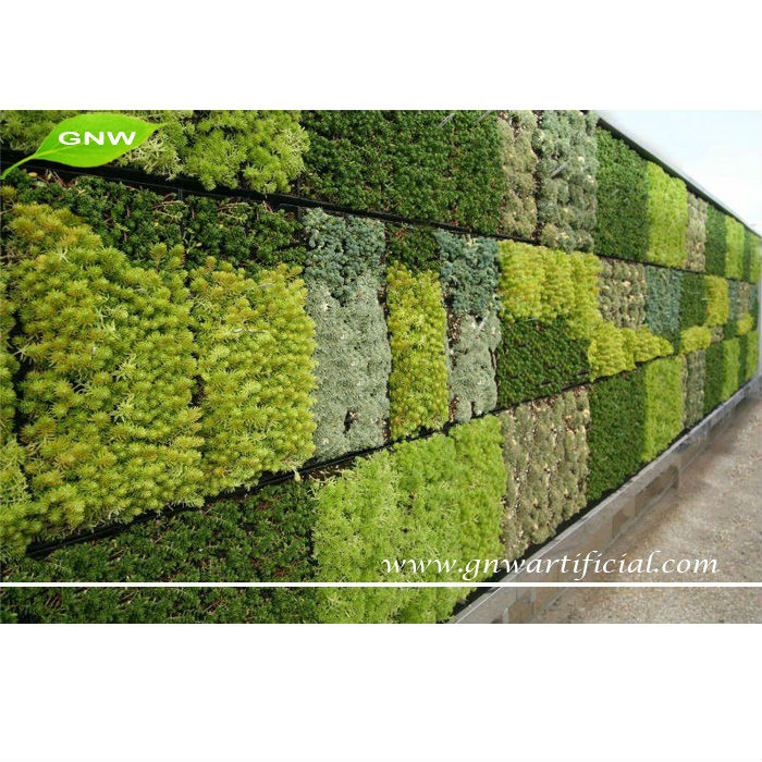 Gnw glw027 living wall planter vertical garden arificial for Living plant walls