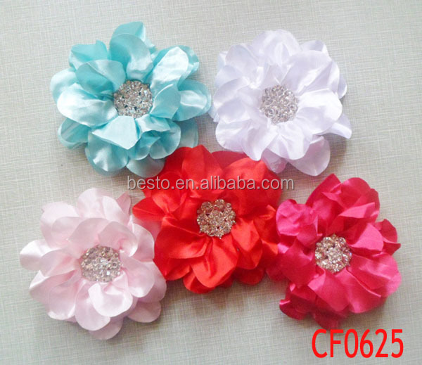 Cf 0618 Handmade Fl Tissue Fabric Flowers For Wedding Dresses Whole