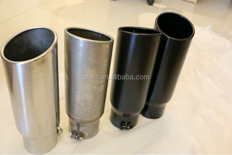 Stainless steel diesel muffler tips