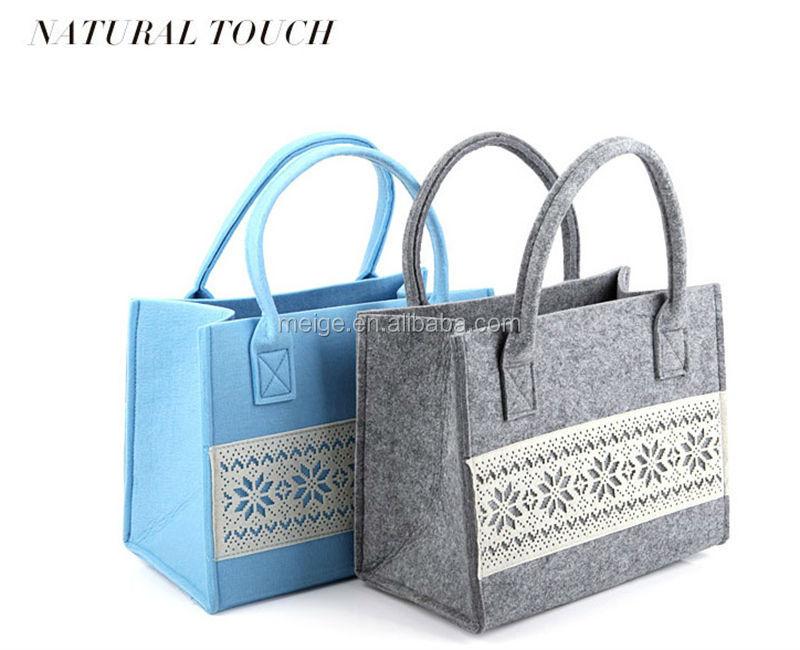 Bsci Audit Factory Felt Ping Bag Wool