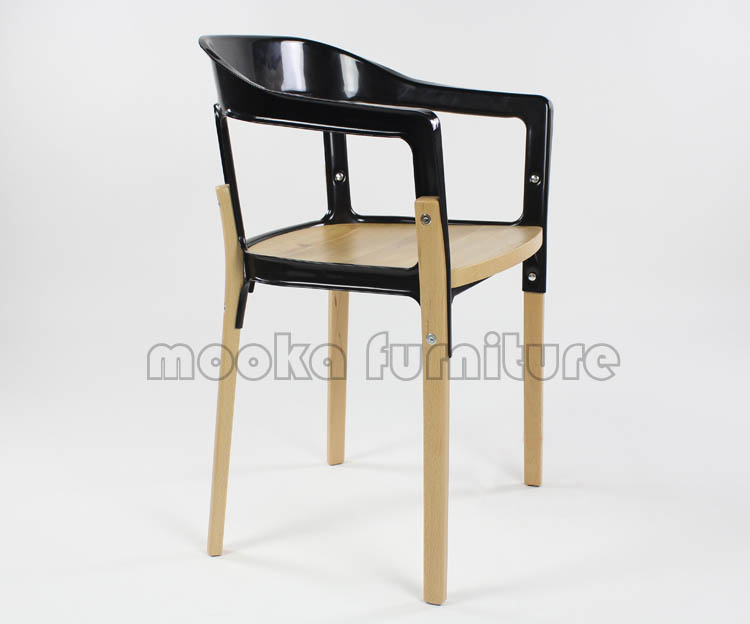 Replica Dining Armchair Magis Steelwood Chair Mkw22 Buy