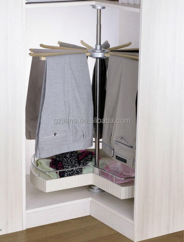 Jayna Sliding Closet Pants Hanger Rack