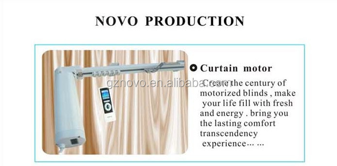 Novo Curtain Motor Wifi Transmitter And Receiver For Electric