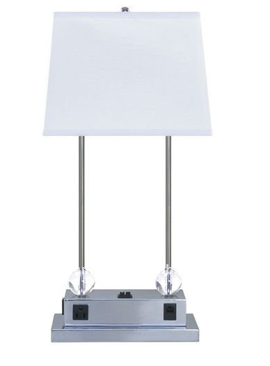 2012 Usa Power Outlet Hotel Nightstand Lamp - Buy Hotel Nightstand ...