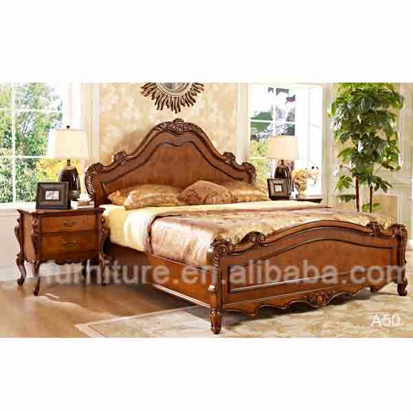 Antique Reproduction Wood Bed