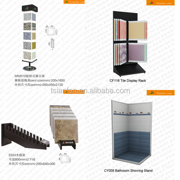Display for Wood Stand Rack For Stone Smaple Boards/ceramic tile Small Stand