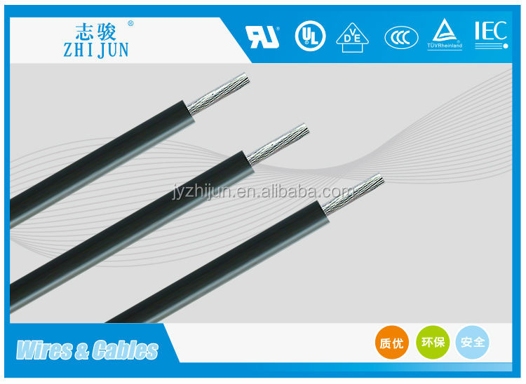 Heat Resisting Silicone Power Cable 3x10mm2 Electric Cable Hot ...