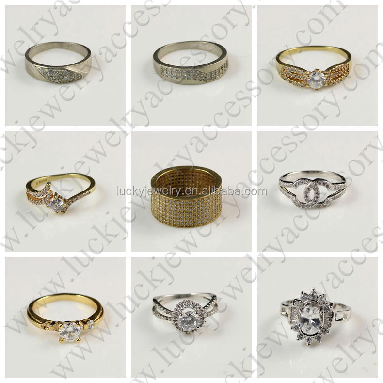 wedding plated rings vintage megrezen ring costume para anillos las for two paired item silver jewelry