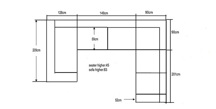 Ukuran Standar Sofa Ruang Tamu Farmersagentartruiz