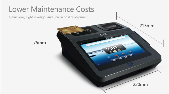 Cheap Price China Android System Touch Screen Pos Machines With ...