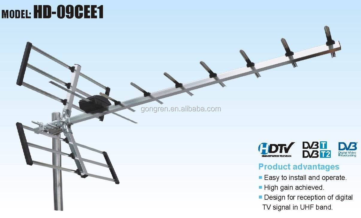 how to build a long distance digital tv antenna