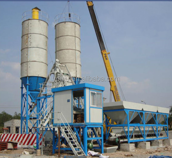 HZS25 small concrete batching plant price