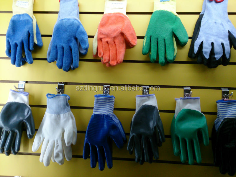 White Cotton Knitted Glove, Cheap Gloves for Workplaces