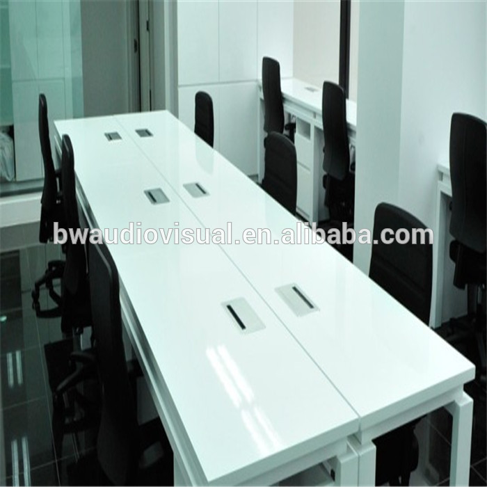 New Design Office Furniture Table Socket With Brush