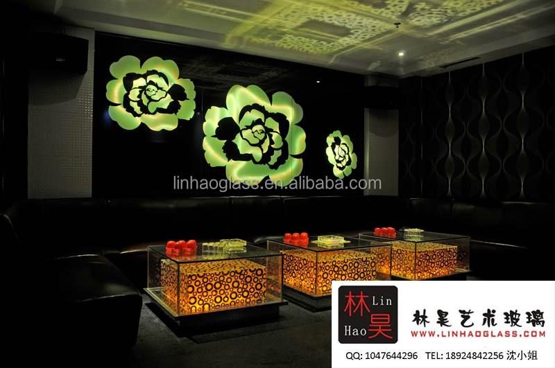 Backlit Glass Night Club Wall Decor Buy Night Club Wall