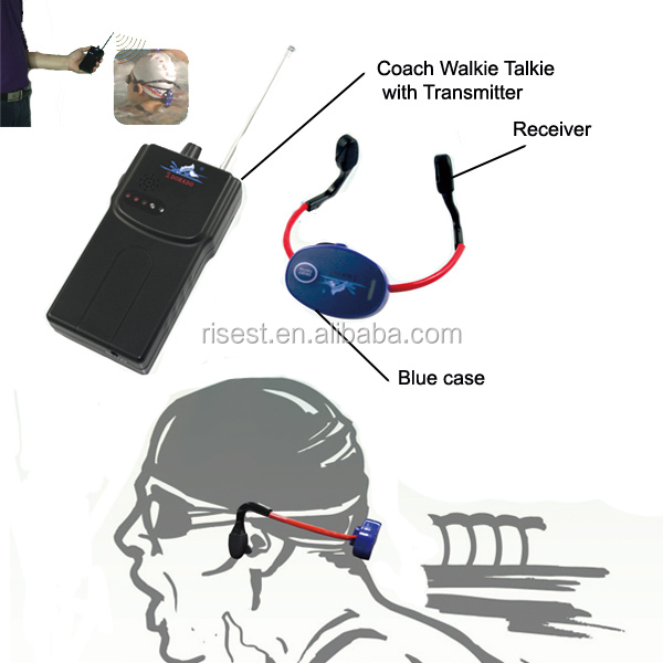 Underwater Two Way Radio Walkie Talkie Headset Bone