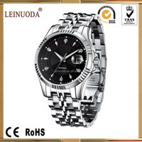 Automatic Watch Stainless Steel Swiss Movement/sapphire Glass/men ...