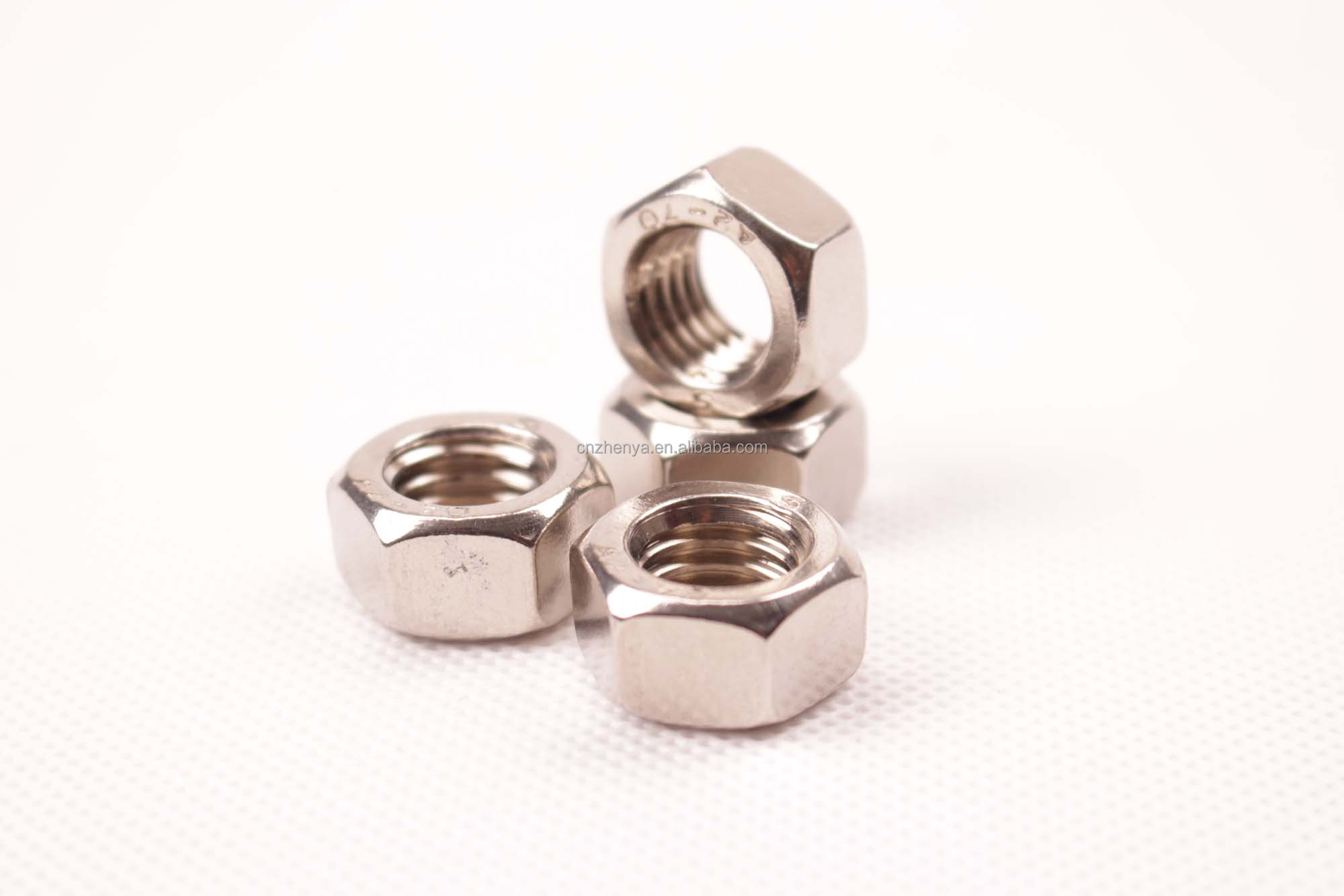 China Fastener Thin Hex Nut Exporting Supplier M3-m42