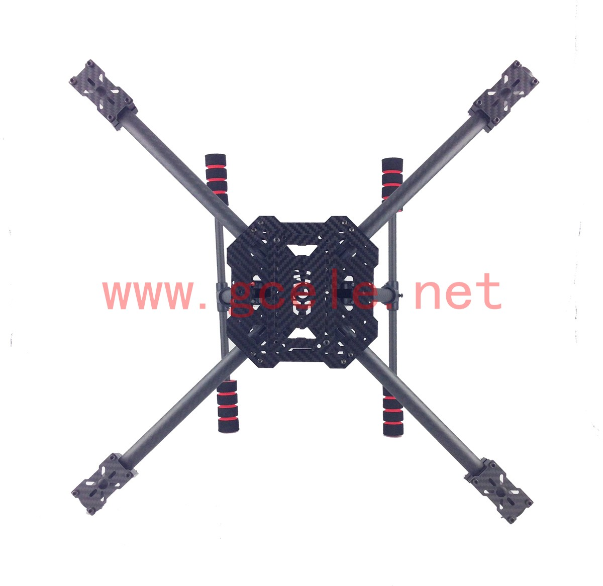 Folding Quad Rotor Frame 500 550 600mm Carbon Fiber Quad