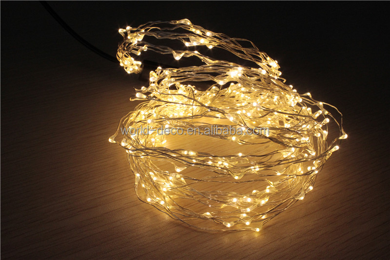 12v Mini Led Copper Wire String Lights / Ultra Thin Led Fairy ...