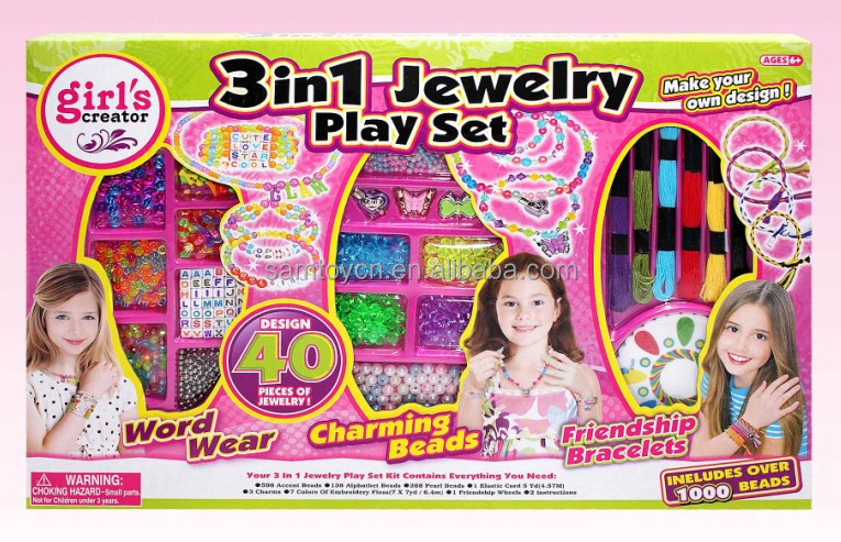 Diy Wrist Twists Bracelet Maker Loom Kit Toys