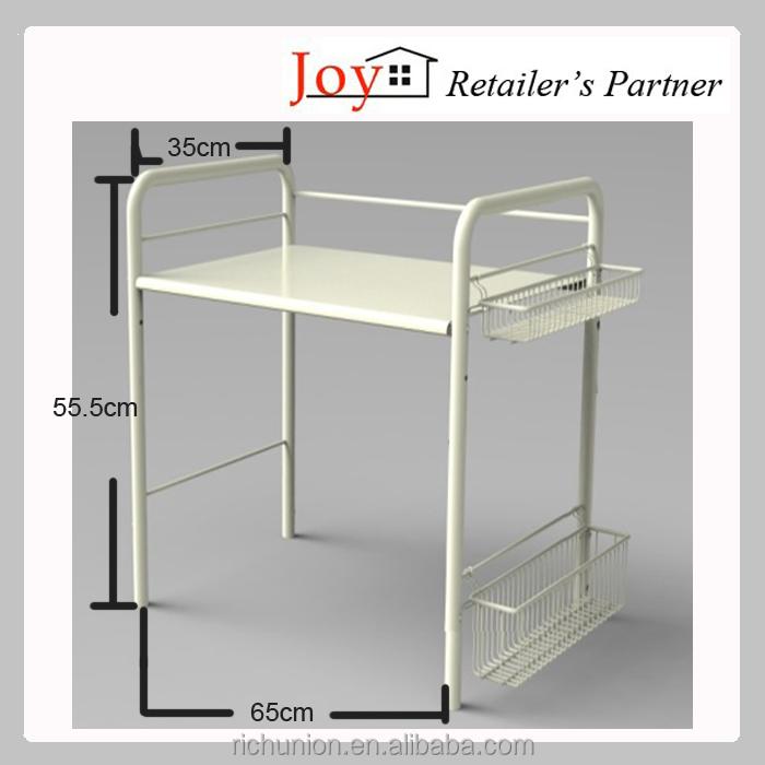 Gabinete de cocina de metal estante de almacenamiento para - Estante para microondas ...