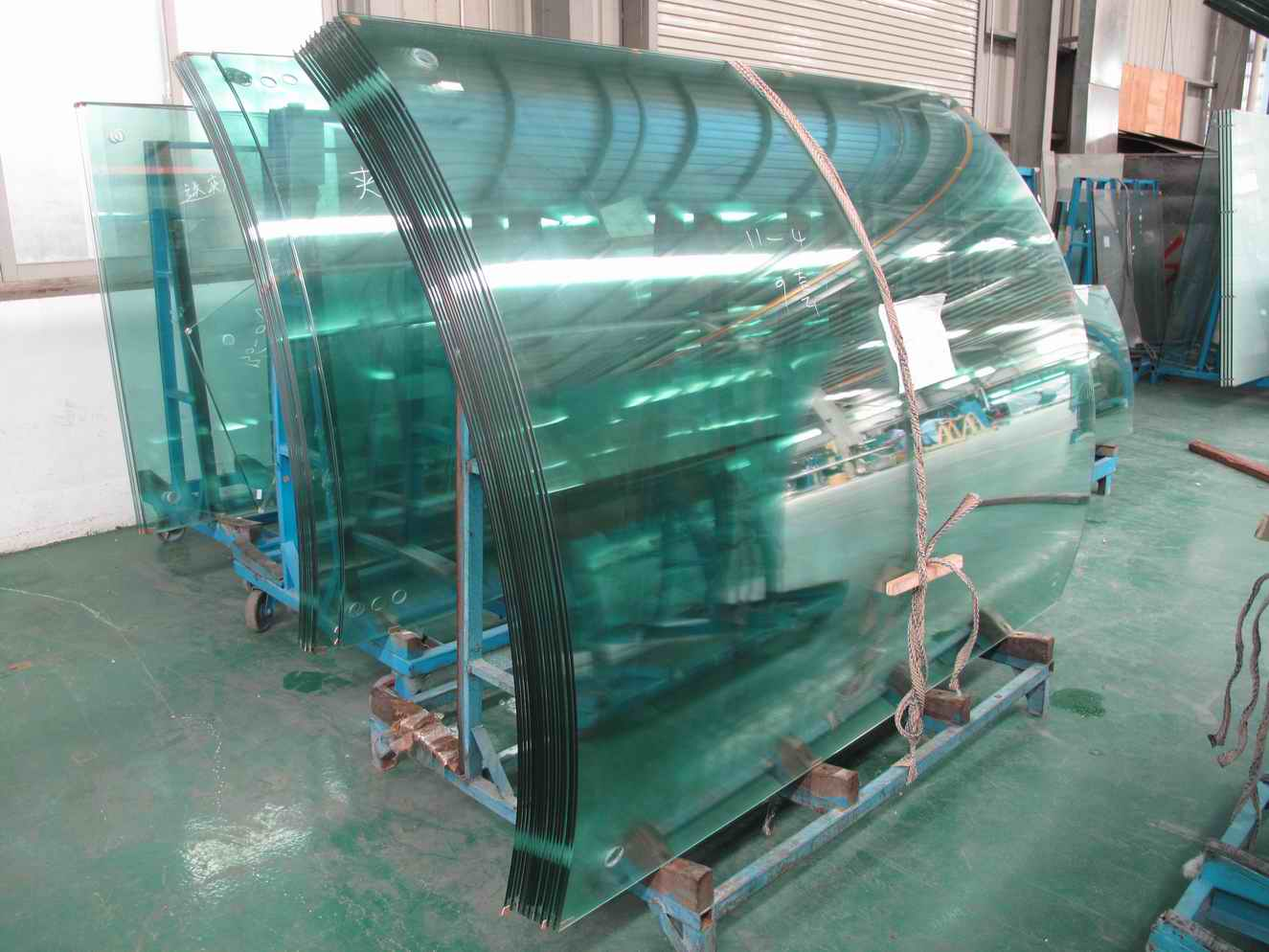 China Radius 860mm Curved Tempered Glass Factory Buy