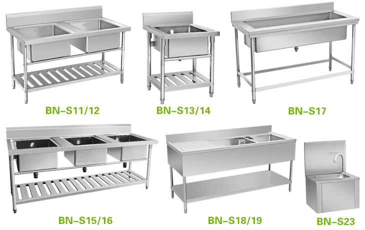 Stainless Steel Sink, Kitchen Sink, Cheap Bowl Sink Bench Awesome Design