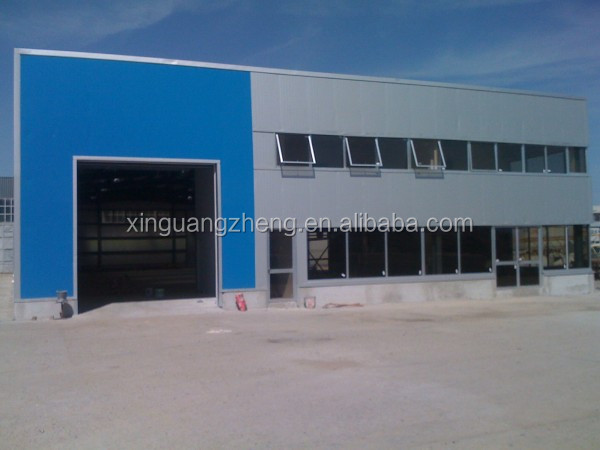 light prefabricated steel structure building material warehouse in kit