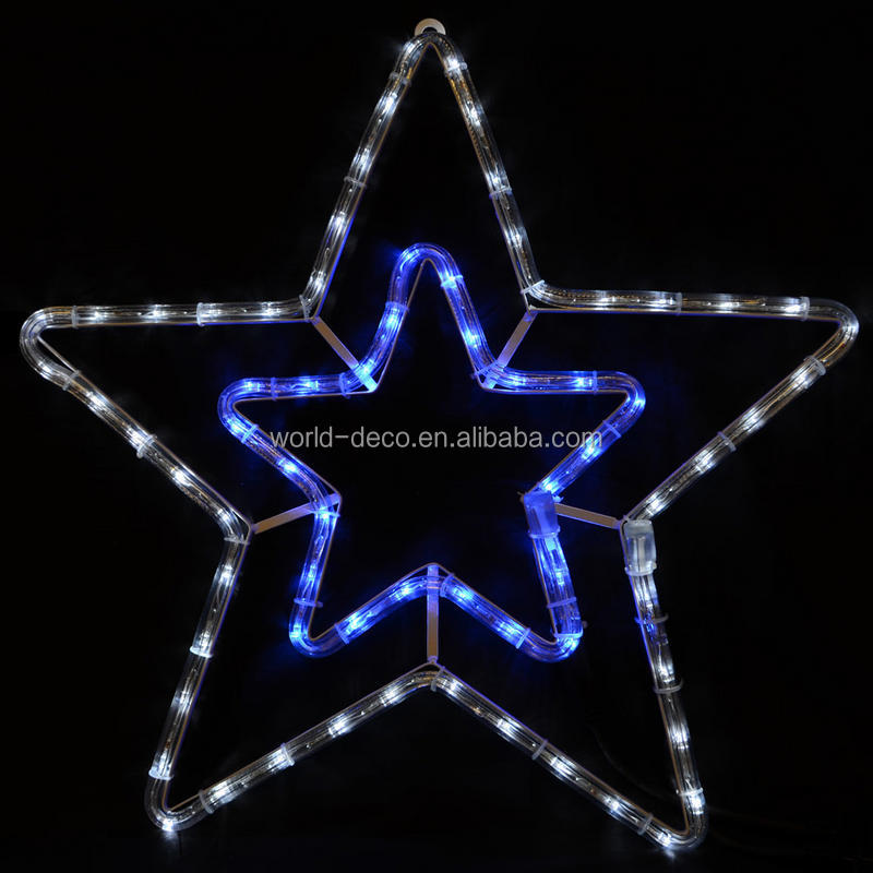 White Shooting Stars Light / Led Commercial Christmas Project ...
