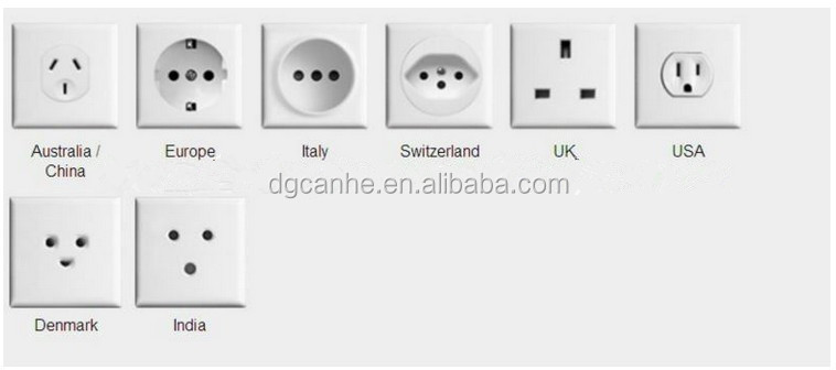 Power adapter volt plug with ma usb output hot